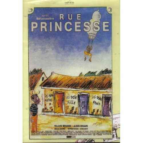 FILM dvd RUE PRINCESSE