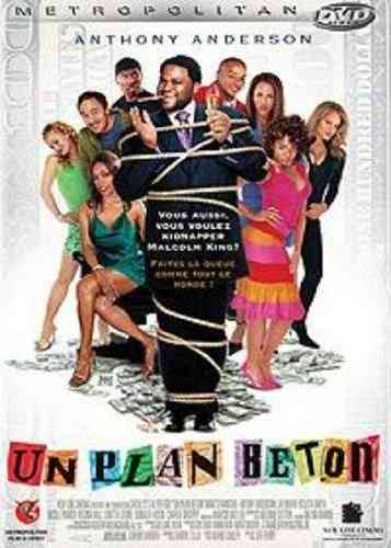 "DVD Film:   ""UN PLAN BETON (King's Ransom)"""