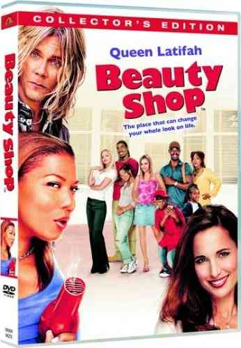 "DVD, Film:    ""BEAUTY SHOP""    avec Queen Latifah"