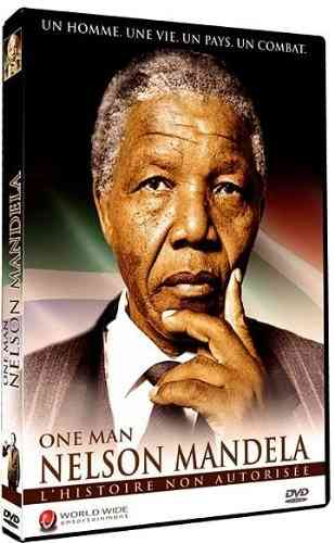 "DVD, Documentaire / Documentary:    ""ONE MAN: Nelson MANDELA"" + Bonus"