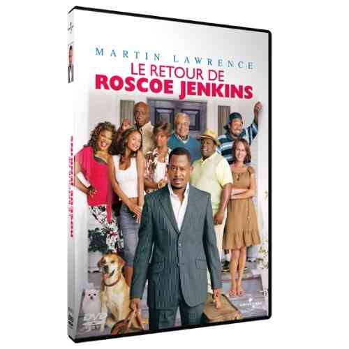 "DVD Film:    ""LE RETOUR DE ROSCOE JENKINS"" avec Martin Lawrence, James Earl Jones, Mo'Nique, Malcolm D. Lee, . . ."