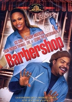 """BARBERSHOP"" de et avec Ice Cube. Starring Ice Cube, Eve, Anthony Anderson, Cedric The Entertainer"