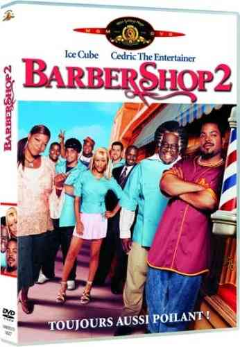 """BARBERSHOP , 2""   de Ice Cube. Avec Ice Cube, Eve, Queen Latiffah, Cedric The Entertainer, etc"