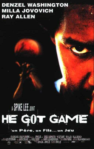 "DVD Film   ""HE GOT GAME""   de Spike Lee.   Avec Denzel Washington ..."
