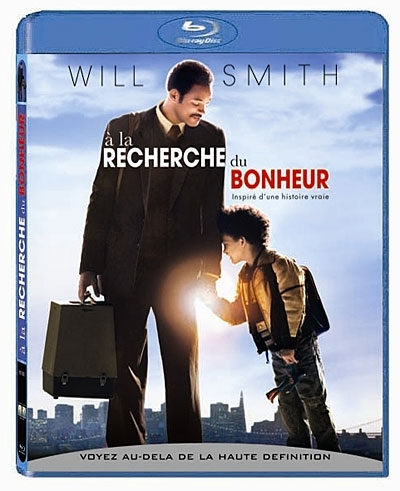 "BLU-RAY, Film: ""A LA RECHERCHE DU BONHEUR""  (The Pursuit Of Happyness)   Will Smith, Jaden Smith, Thandie Newton ..."