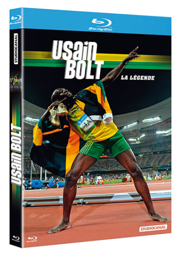 "BLU-RAY, Documentaire | Sport:    ""USAIN BOLT, La Légende"""