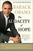 "Livre Essai Politique:    ""THE AUDACITY OF HOPE""    by Barack OBAMA"
