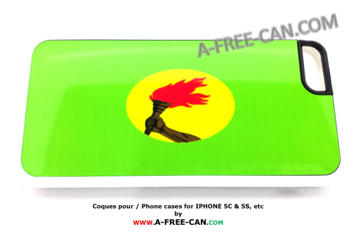 "COQUE pour / PHONE CASE for Iphone 5C:  ""ZAIRE"" (By A-FREE-CAN.COM)"