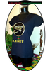 "T-SHIRT, Woman / Femme: ""OUDJAT, EYE OF HORUS"" by A-FREE-CAN.COM"