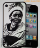 "COQUE pour / PHONE CASE for Iphone 4/4S: ""JOMO KENYATTA"" (By A-FREE-CAN.COM)"