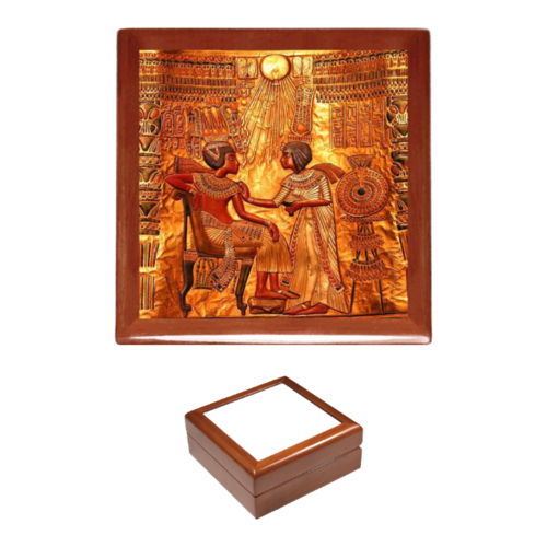 "Boîte à bijoux / Jewerly box: ""BLACK LOVE KEMET ROYAL 2"""