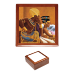 "Boîte à bijoux / Jewerly box: ""BLACK LOVE KEMET ROYAL 1"""