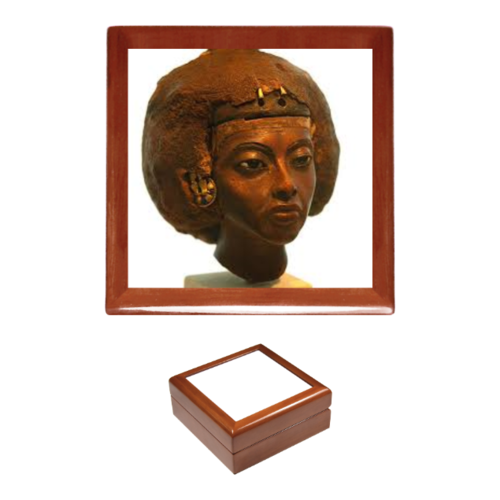 "Boîte à bijoux / Jewerly box: ""QUEEN TIYI"" (d)"