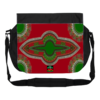 "GRANDE Sacoche à bandoulière / BIG shoulder Bag: ""DASHIKI RED GREEN"" by A-FREE-CAN.COM"