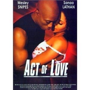 Dvd Film   ACT OF LOVE   (DISAPPEARING ACTS)   de et avec Wesly Snipes