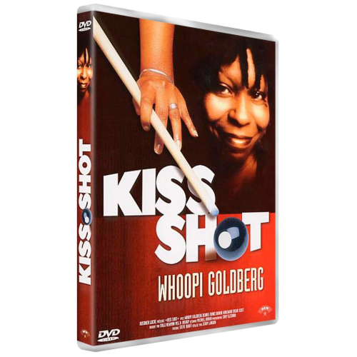 "DVD, Film:    ""KISS SHOT""    avec Whoopi Goldberg"