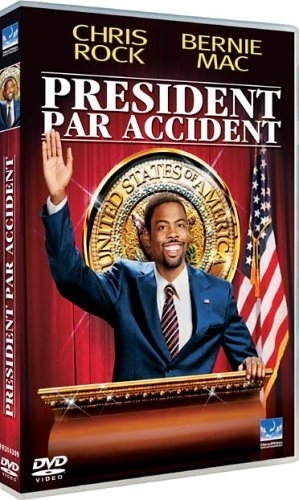 "DVD, Film:    ""PRÉSIDENT PAR ACCIDENT (Head Of State)""    de/par/avec Chris Rock."