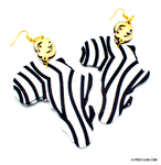 Bijoux: KEMET GYE NYAME (Boucles d'oreilles / Earrings / Brincos)