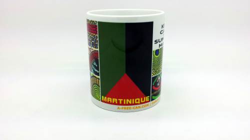 """Martinique, MADININA"" by A-FREE-CAN.COM - (Mugs)"