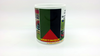 "2 MUGS Medium / 2 TASSES Medium: ""Martinique, MADININA"""