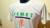 "T-SHIRT COTON, Unisex: ""KEMET GYÉ NYAMÉ"" by A-FREE-CAN.COM"
