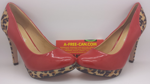 Chaussures Femmes / Women Shoes : RED LEOPARD
