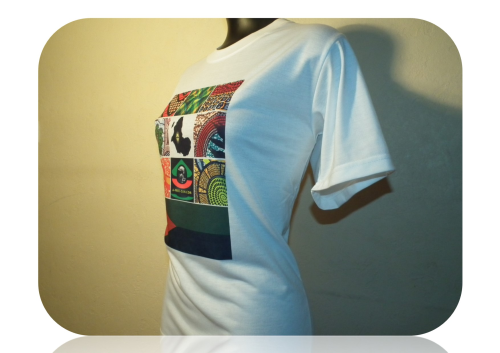 "T-SHIRT, Unisex: ""AFRIKA MADININA"" by A-FREE-CAN.COM"