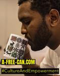 """KEEP CALM and BE A-FREE-CAN / ADINKRA"" by A-FREE-CAN.COM"