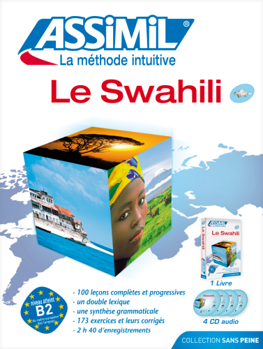 "MÉTHODE DE LANGUE, Livre et/ou CD Audio: ""LE SWAHILI"""