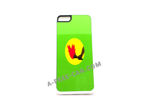 "COQUE pour / PHONE CASE for Iphone 5S:  ""ZAIRE""    (By A-FREE-CAN.COM)"