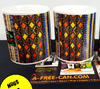"""BOGOLAN"" (Lot de 2 Mugs) by A-FREE-CAN.COM"