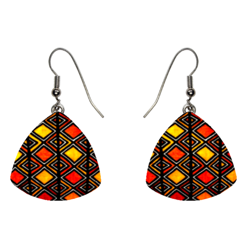 "BIJOUX, Boucles d'oreilles: ""BOGOLAN v1"" (Earrings / Brincos)"