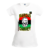 "T-SHIRT, Women / Femmes: ""MARCUS GARVEY, v1"" by A-FREE-CAN.COM"