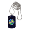 "BIJOUX, pendentif avec médaille rectangle: ""ASTRO GLOBE KAMA v2"" by A-FREE-CAN.COM"