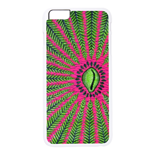 "Coque 2D pour Apple IPHONE 6 Plus: ""WAX DESIGN NZIMBU"""