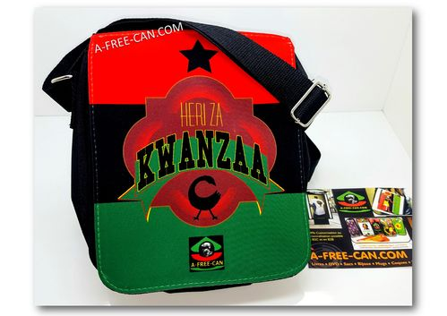 "Petit Sac / Small Bag: ""HERI ZA KWANZAA"" by A-FREE-CAN.COM"