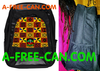 "Grand Sac à Dos / Big BackPack: ""KENTE v1"" by A-FREE-CAN.COM"