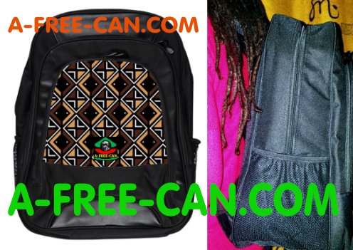 "Grand Sac à Dos: ""BOGOLAN v2"" by A-FREE-CAN.COM"