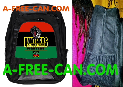 "Sac à Dos: ""A-FREE-CAN PANTHERS FIGHTERS RBG v1"" by A-FREE-CAN.COM"