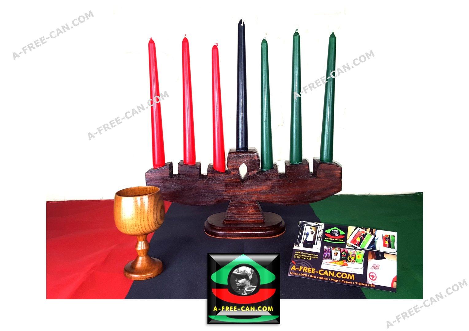 a free can com kwanzaa kit set of 1 kinara ankh 7 kwanzaa