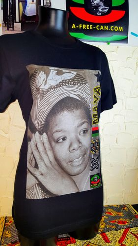 "T-SHIRT, Unisex: ""MAYA v1"" by A-FREE-CAN.COM"