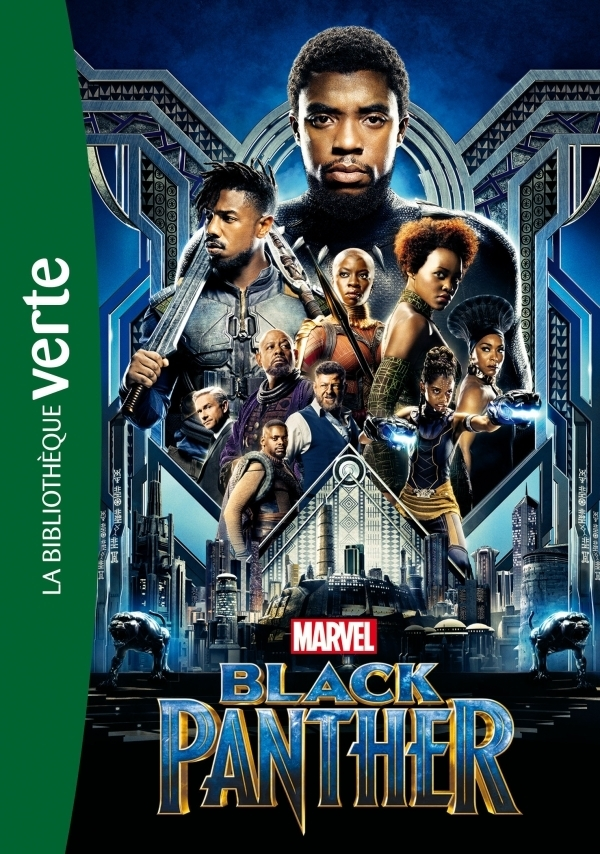 """BLACK PANTHER (Le roman du film)"" de Marvel"