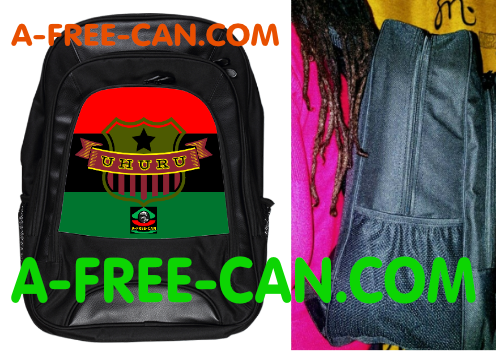 "Grand Sac à Dos: ""UHURU BLACK STAR RBG"" by A-FREE-CAN.COM"
