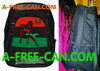 "Grand Sac à Dos / Big BackPack: ""SUPER KAMITE WOMAN (rbg v1)"" by A-FREE-CAN.COM"