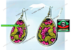 "Boucles d'oreilles: ""KIVITA"" (Earrings / Brincos)"