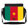 "GRANDE Sacoche à bandoulière / BIG shoulder Bag:  ""DRAPEAU CAMEROUN"" by A-FREE-CAN.COM"