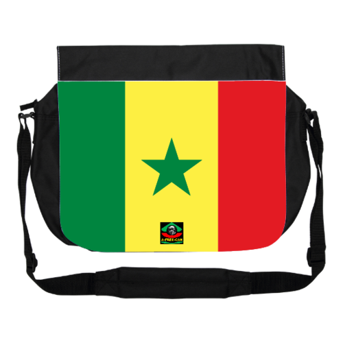 "GRAND Sac à bandoulière: ""DRAPEAU SENEGAL"" by A-FREE-CAN.COM"