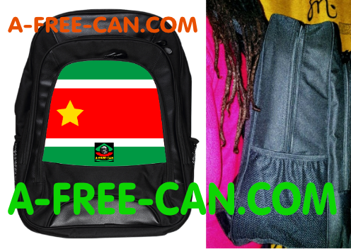 "Grand Sac à Dos: ""DRAPEAU GUADELOUPE (v2)"" by A-FREE-CAN.COM"