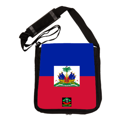 """HAITI Union Fait La Force"" by A-FREE-CAN.COM - (Sac à Bandoulière)"
