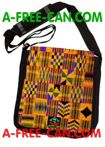 """KENTE 1"" by A-FREE-CAN.COM - (Sac à Bandoulière)"